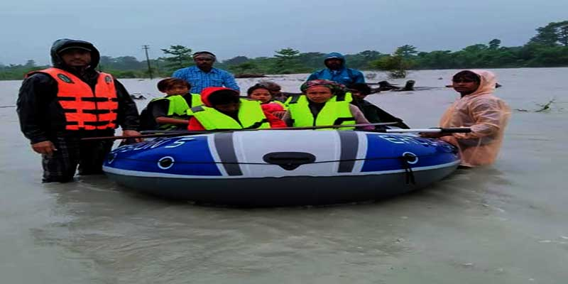 Arunachal: 8 marooned people rescued from flooded Lohit River