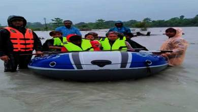 Photo of Arunachal: 8 marooned people rescued from flooded Lohit River