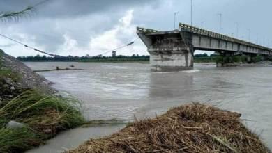 Photo of Arunachal: Embankment of RCC Bridge washed out, Bomjir – Paglam cut off