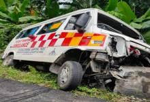 Photo of Arunachal: 1 dies after Ambulances dashes with roadside culvert