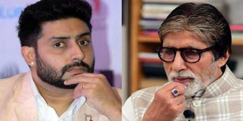 The Bollywood superstar Amitabh Bachchan, and his son Abhishek tested positive for coronavirus ( Covid-19 ) on Saturday.