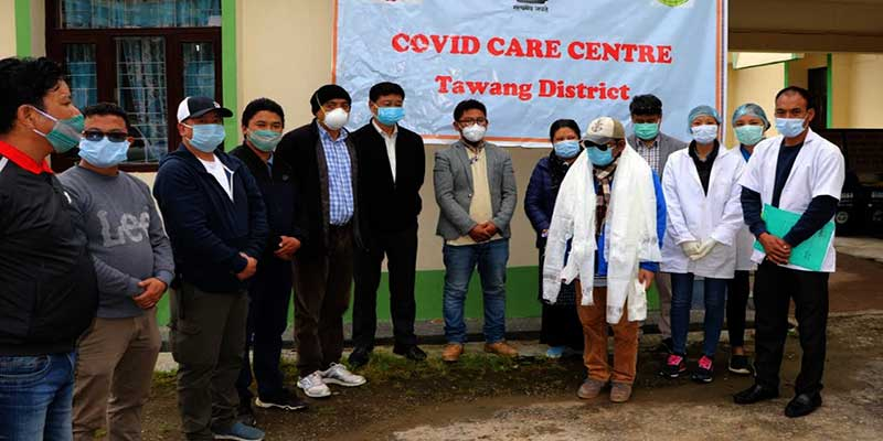 Arunachal: lone COVID-19 positive person of Tawang has been released