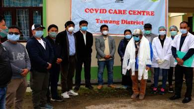 Photo of Arunachal: lone COVID-19 positive person of Tawang has been released