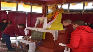 Photo of Arunachal CM inaugurates prayer hall and statue of Guru Padma Sambhava in Tawang