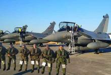 Five Rafale jet take off from France airbase to India