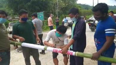 Photo of Arunachal:Villagers declared Lockdown for 30 daysin Sangdopota Circle
