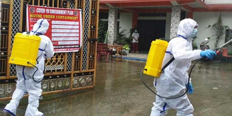 Arunachal:Sensitization, disinfectantcontinue in containment zone