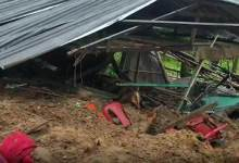 Photo of Arunachal: Four including 8-month-old baby buried in landslide at Tigdo village