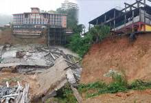 Photo of Itanagar: Rain leaves a trail of destruction in capital complex