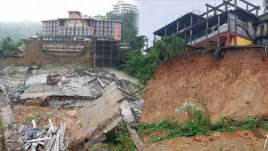 Itanagar: Rain leaves a trail of destruction in capital complex