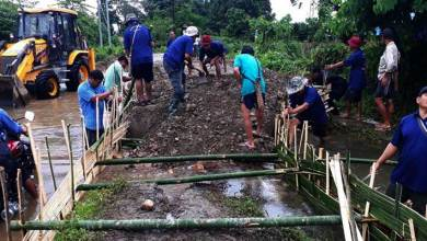 Photo of Arunachal: Villagers themselves renovate damaged road