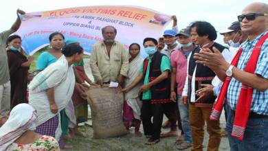 Photo of Arunachal: AMBK distributes food grains to flood affected people at Bera Chapori, Memberchuk and Galighat in Assam