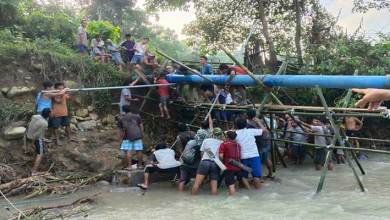 Photo of Arunachal: Damaged Ledum Water Supply Project restored with the help of Bilat youths