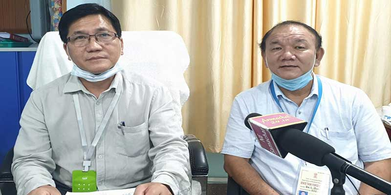 Itanagar: 8 People test positive for Covid 19 in ICR