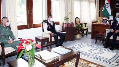 Photo of Arunachal Governor reviews Air Security with Chief Minister & AOC-in-C, EAC