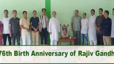 Arunachal: APCC Celebrates 76th Birth Anniversary of Rajiv Gandhi