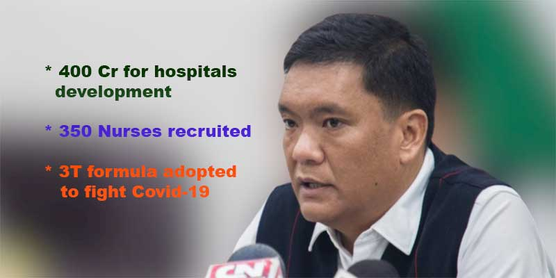 Arunachal: State govt will spend 400 Crores for infrastructure development of district hospitals- CM