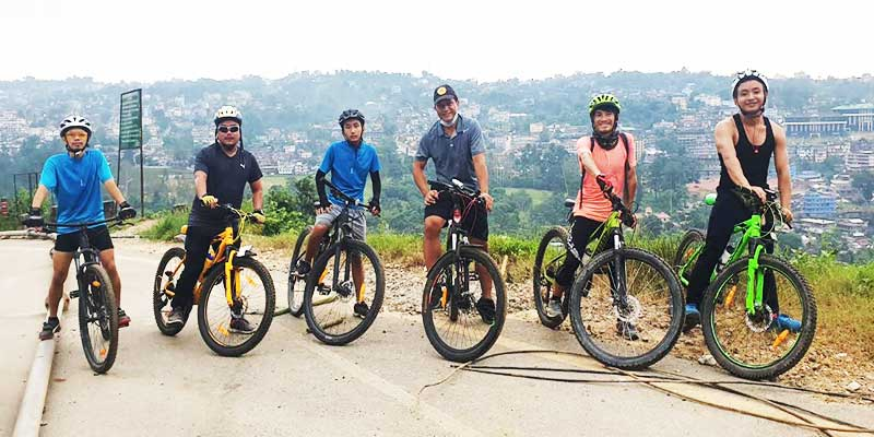 'Itanagar Cycling Meet' promoting cycling in ICR