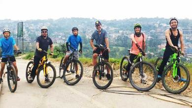 Photo of 'Itanagar Cycling Meet' promoting cycling in ICR