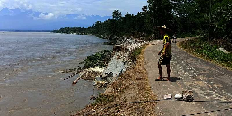 Arunachal: Mebo Dhola Road snapped from another point in between Borguli and Seram