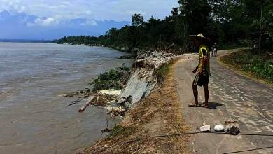 Photo of Arunachal: Mebo Dhola Road snapped from another point in between Borguli and Seram