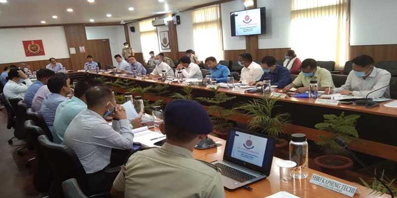 Itanagar: SPs conference on Crime & Criminal Tracking Network System held