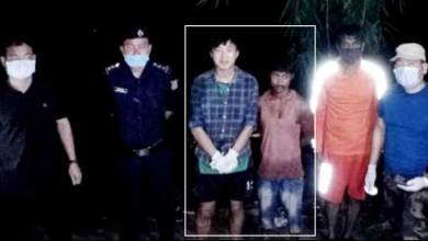 Itanagar: Capital police rescues 2 youths stuck in Dikrong River