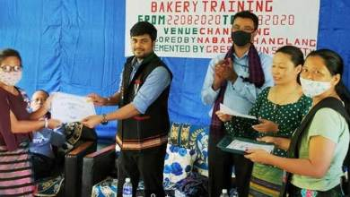 Photo of Arunachal: NABARD supported Bakery training concluded in Changlang