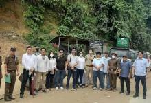 Itanagar: Construction work of NH-415 from Pappu Nallah to Banderdewa commenced