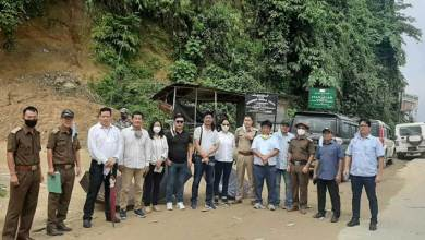 Photo of Itanagar: Construction work of NH-415 from Pappu Nallah to Banderdewa commenced