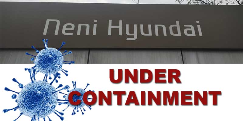 Itanagar:Neni Hyundai under containment after 45 persons test positive for Covid-19