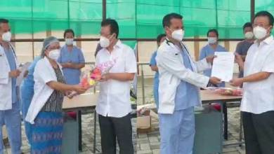 Itanagar: Education Minister Taba Tedir discharged DCH, Chimpu