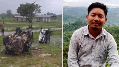 Photo of Arunachal:   WSU's AGS Wangchai Wangsu dies in road accident