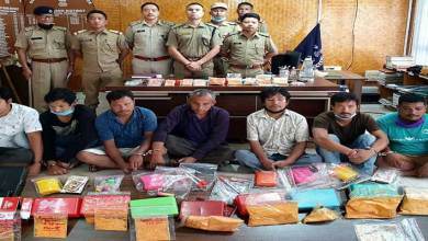 Arunachal: Inter-state drug racket busted, 7 held, Heroin worth of Rs 25 lakh seized