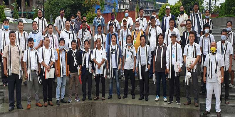 Itanagar: People of Nyapin express their gratitude to CM for sanctioning road project connecting Nyapin