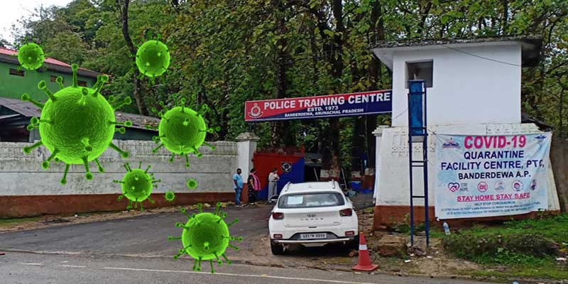 A total of 84 newly recruited constable (Male) who were undergoing training at Police Training Centre (PTC) Banderdewa has been detected Covid 19 positive
