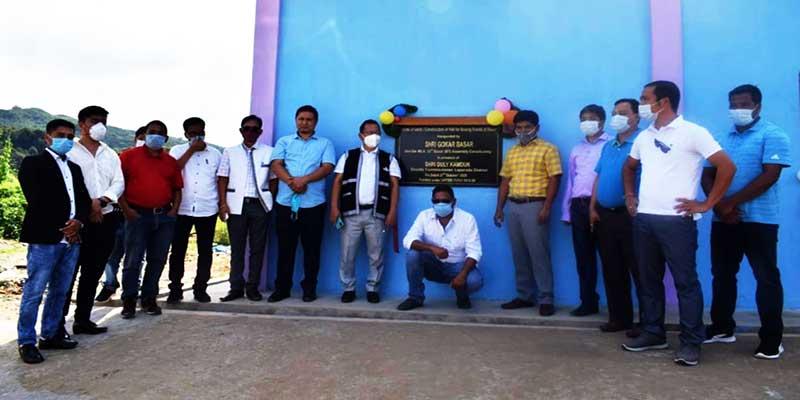 Arunachal: Gokar Basar inaugurated a Hall forboxing lovers