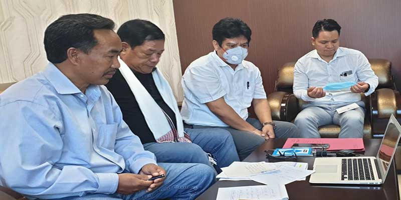 Itanagar- Ngandam appeal Dr. Harsh Vardhan to give priority to Arunachal Pradesh