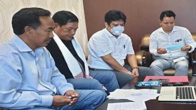 Photo of Itanagar- Ngandam appeal Dr. Harsh Vardhan to give priority to Arunachal Pradesh