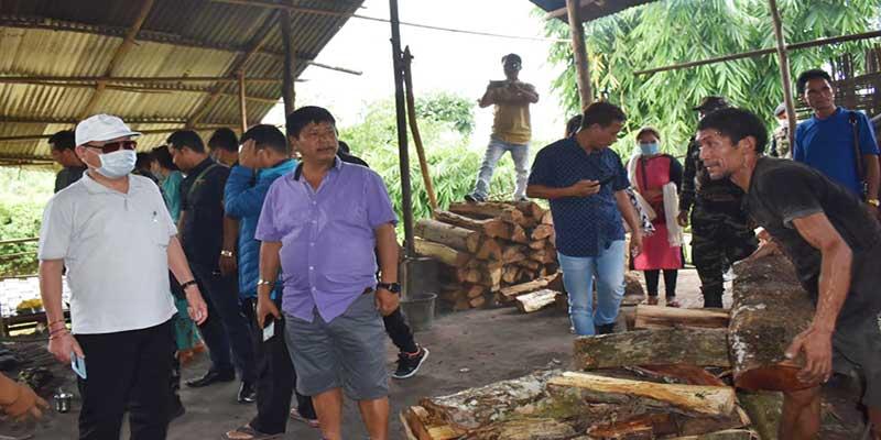Arunachal: Nabam Rebia visits Tani Hapa and Dobam village