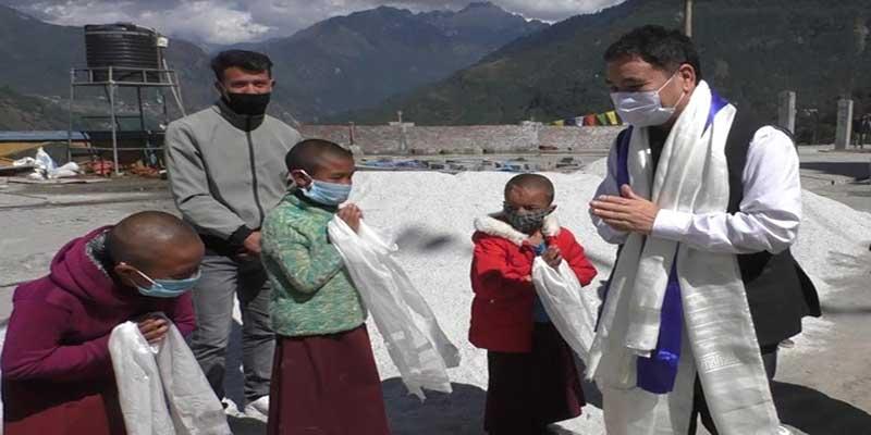 Arunachal: Alo Libang visits Jang, Tawang to take stock of ICDS programme