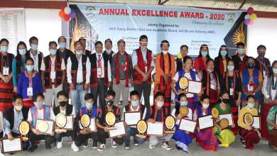 Arunachal: Achieving students of Siang district felicitated at ABK Annual Excellence Award, Boleng