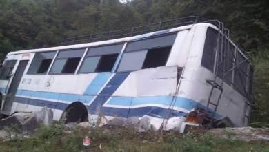 Arunachal: Man dies in APST bus accident near Tenzing gaon in West Kameng