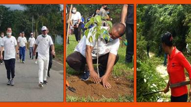 Photo of Arunachal:Gandhi Jayanti observed all over state with Fit India Run, Plantation and cleaning drive