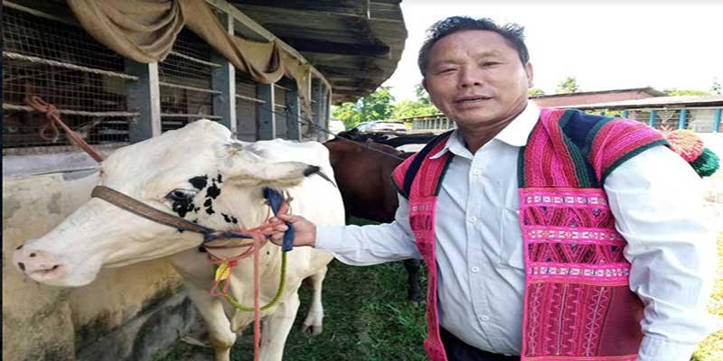 Arunachal: Farmers in Lohit get Milch Cows to boost self reliant economy