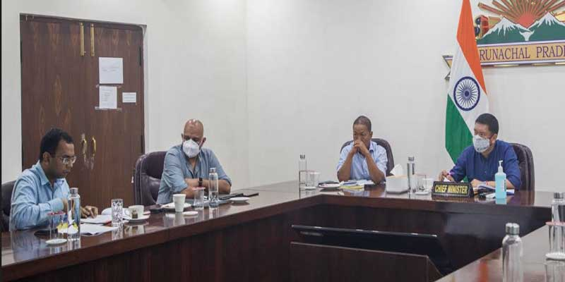 Arunachal CM reviews implementation of Jal Jivan Mission, Swachh Bharat (Gramin) Scheme in the state