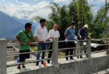 Arunachal: Ojing Tasing inspected water supply project at Boleng