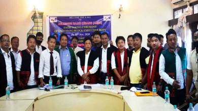 Arunachal: AMBK E/Siang unit with block office bearers sworn in