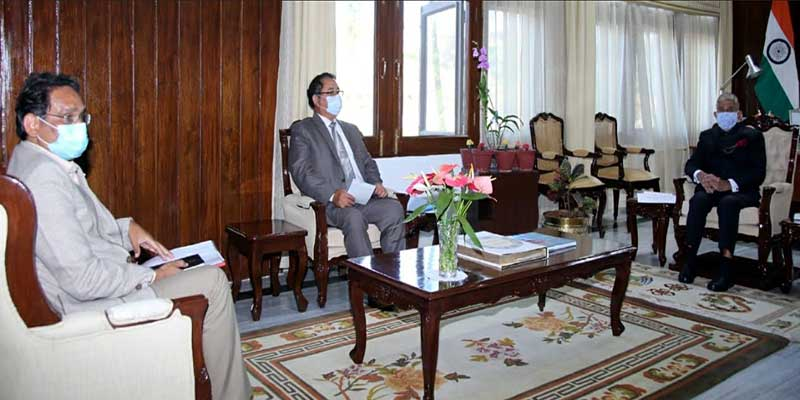 Itanagar: APPSC Chairman calls on the Governor