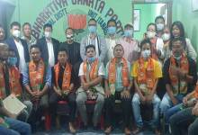 Itanagar: over 100 youth leaders, workers join BJP